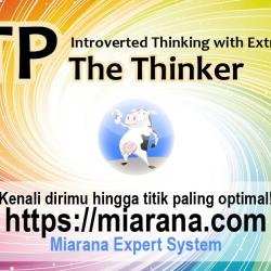 INTP - Introverted Thinking with Extraverted Intuition - The Thinker